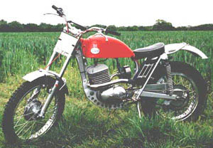 Classic Trials Greeves anglian 246cc