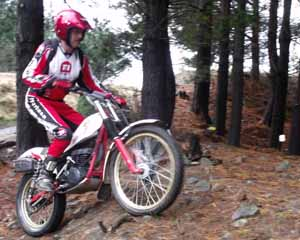 Horsford Downs Classic Trials Keith Brown. Montesa