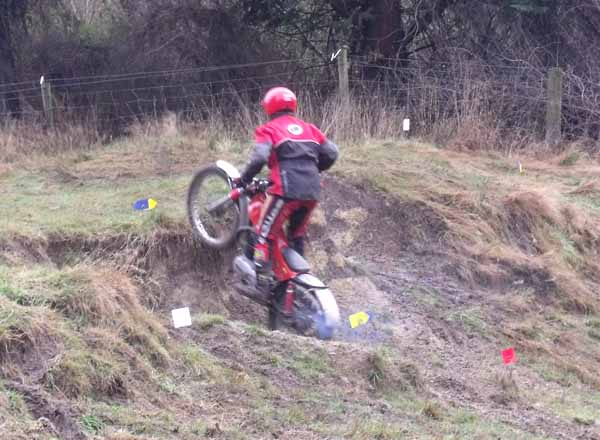 Horsford Downs Classic Trials Alan Mason