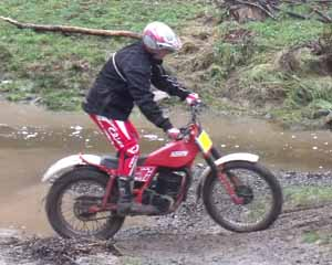 Horsford Downs Classic Trials Paul Jackson. Fantic
