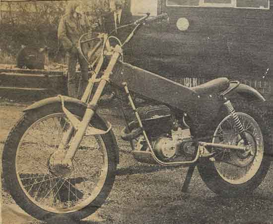 Classic Trials MAC Trialsbike
