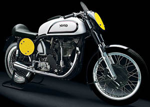 Manx Norton 500cc 1952 restored by Ken McIntosh