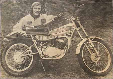 Mick Andrews Works Yamaha Cantilever 1974
