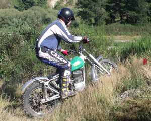 Classic Trials at North Loburn, Dave Chambers. ABS 250