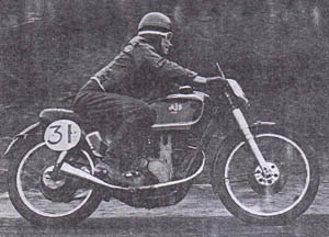 Ron Taggart AJS250R