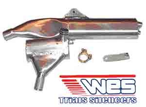WES Walker Exhaust Silencers TLR