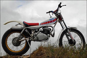 Trials Yamaha Majesty WES System