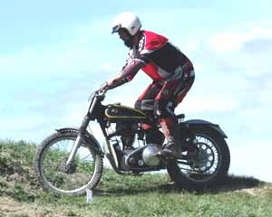 Classic Trials, Rob Stowell. AJS Trials 350cc