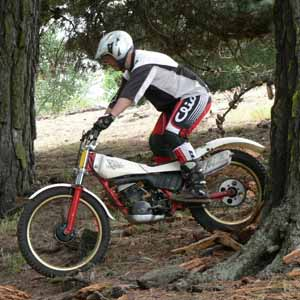 Spencerville Classic Trials, Andy Beale. Yamaha TY