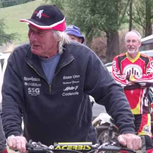 Mick Andrews at Living Springs Classic Trial
